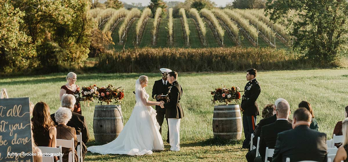 Say I Do with a Vineyard View
