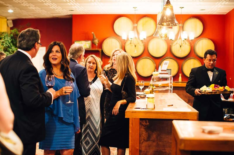 Cocktail Hour in the Tasting Room