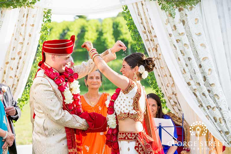 hindu winery wedding venue in northern virginia