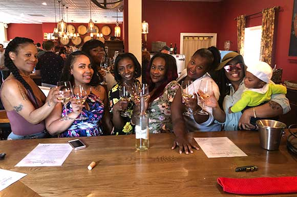 submit your photos to 8 chains north like this group of women wine tasting