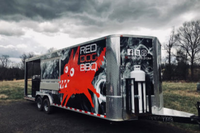 food truck red dog bbq