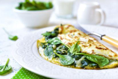 mother's day brunch omelette
