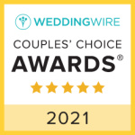 wedding wire 2021 couples choice award