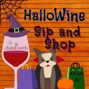 hallowine sip and shop